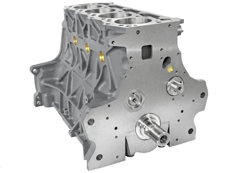 Ford Short Front Right on 4 Cylinder Engine Block