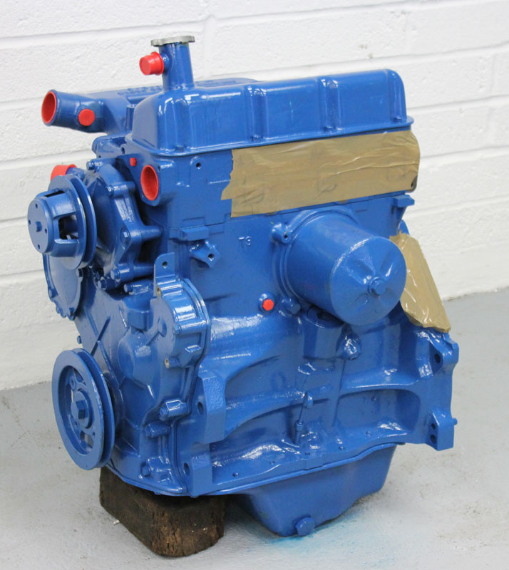 Ford 2000 Tractor 3 Cylinder : Ford reconditioned cylinder tractor and agricultural engines