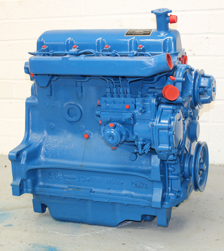 Ford Tractor Engine : Ford reconditioned cylinder tractor and agricultural engines