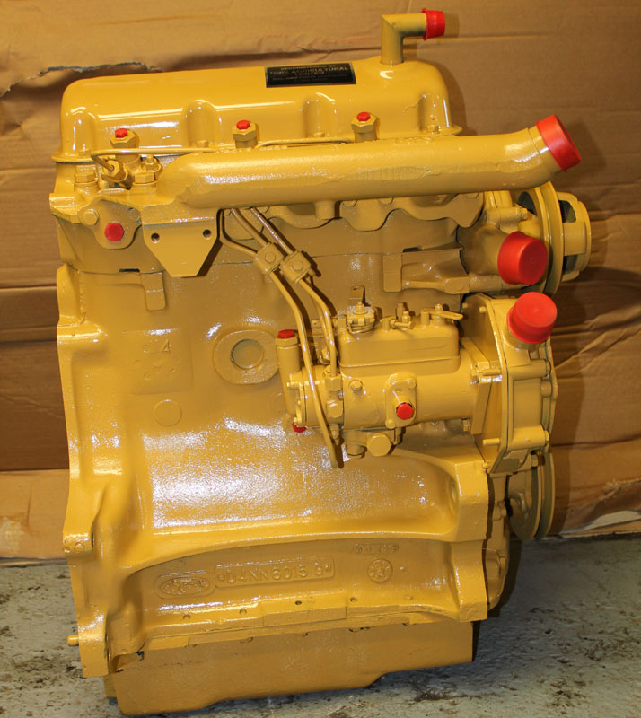 Ford Reconditioned 3 Cylinder Tractor And Agricultural Engines