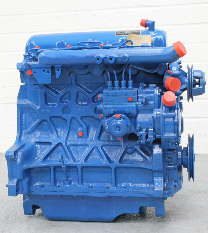 Ford 5000 Tractor Engine : Ford reconditioned cylinder tractor and agricultural engines