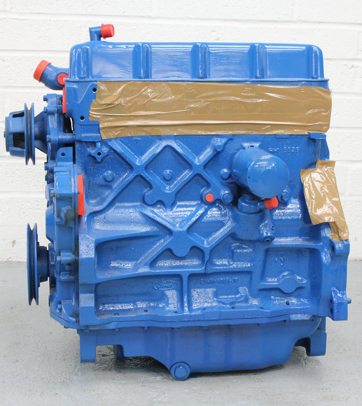 ford reconditioned  cylinder tractor  agricultural engines