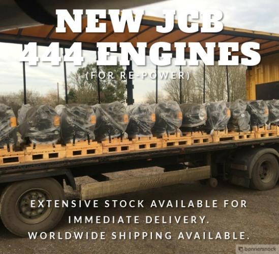 Timik - JCB 444 engines, Perkins / Ford new - remanufactured